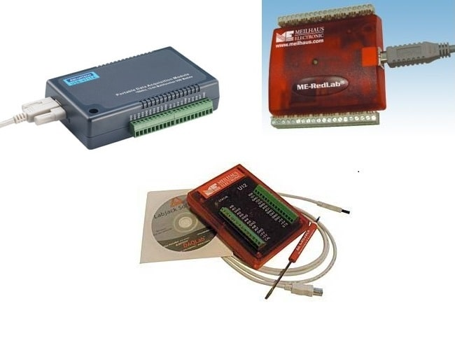 Mobile Messtechnik USB Multi I/O Module 12 Bit