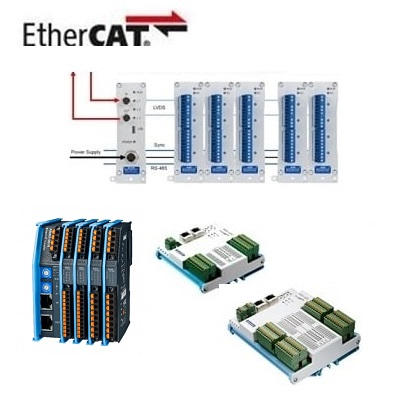 Remote-I/O-Module via EtherCAT