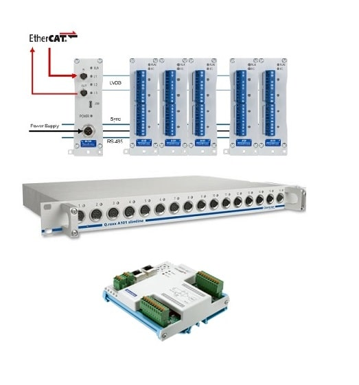 Remote-I/O-Module via EtherCAT Analog Module