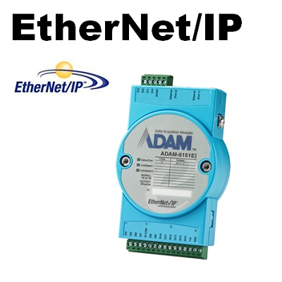 Remote-I/O-Module via Ethernet/IP