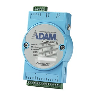 Remote-I/O-Module via Ethernet/IP Temperatur Module