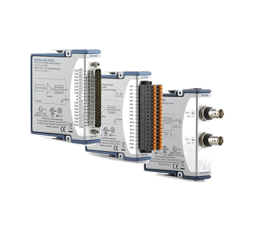 Steuerungstechnik Robustes PAC System Analog Out Module