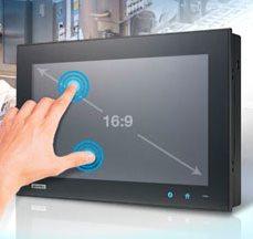 Touch Panel IPC mit Widescreen Display