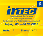 AMC Messestand zur Intec 2019