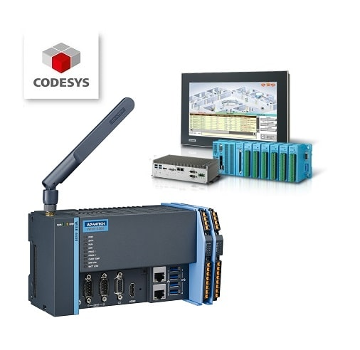 Steuerungstechnik - DIN RAIL-, Touch Panel-, Embedded Box-PC-Systeme mit CODESYS